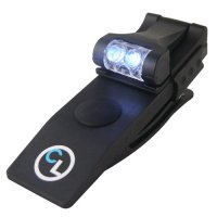 QuiqLite CLIPLite Hands-Free Dual White LED Clip-on Light
