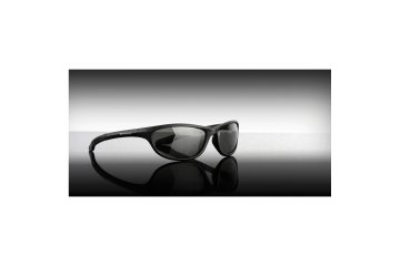 Wychwood Sunglasses black wrap around smoke lens