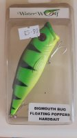Waterwolf Bigmouth Bug Lure