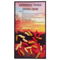 Enterprise Tackle - Fake Maggots - Sinking - Mixed Colours