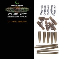 Gardner Covert Clip Kit Session Pack C-thru Brown