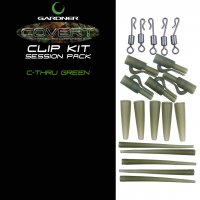 Gardner Covert Clip Kit Session Pack C-thru Green