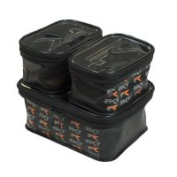 Frenzee FXT Zip top EVA bait containers