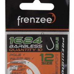 Frenzee 1624 Barbless Spade End Hooks Size 14