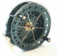 J.w Youngs Y2000 Heritage Centrepin Reel