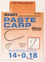 Middy Paste Carp Barbless Size 10