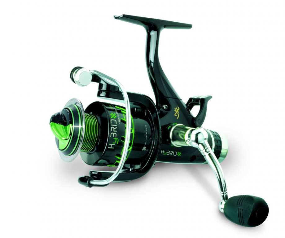 Browning hybrid 640 bf reel carp baitrunner reels for Browning fishing reels
