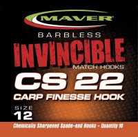 Maver Invincible Cs22 Carp Finesse Hook Size 14