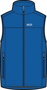 MAP XXL SOFTSHELL GILET