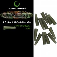 Gardner Covert Tail Rubbers C-thru Green