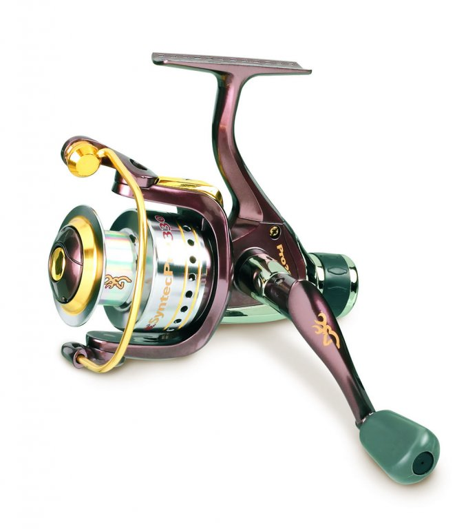 Browning syntec pro 330rd rear drag reel coarse rear for Browning fishing reels