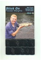 Stick On Feeder Weights 5g