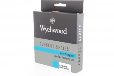 Wychwood River Nympher thin, light fly line for presentation on