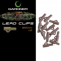 Gardner Covert Lead Clips Brown