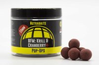 NUTRABAITS BFM KRILL & CRANBERRY+ SHELF-LIFE POP UPS 12MM POT