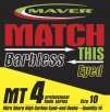 Maver Match This Barbless Mt4 Hook Size 12