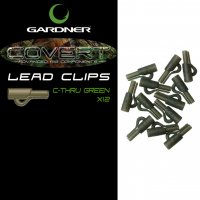 Gardner Covert Lead Clips C-thru Green