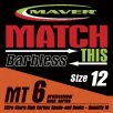 Maver Match This Barbless Mt6 Hooks Size 12