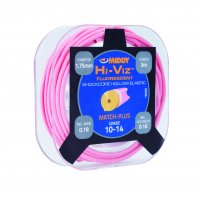 Middy Hi-viz Shock Core Hollow Elastic 10-14 Pink