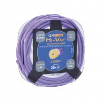 Middy Hi-Viz Shockcore 26-30 Hollow Elastic Purple