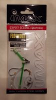 Imax Flounder Rig - Boom Bait Pearl White Beads