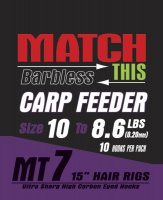 Maver Match This Hook To Nylon Carp Feeder Size 10 To 8.6lbs