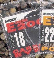 Middy E200 Micro Barb Eyed Hooks