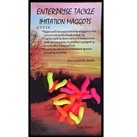 Enterprise Tackle - Fake Maggots - Flouro - Mixed Colours