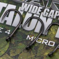 Gardner Covert Dark Wide Gape Talon Tip Hooks Barbed Size 6