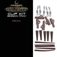 Gardner Covert Clip Kit Session Pack Brown