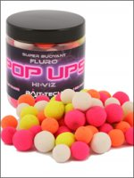 Bait-tech Hi-viz Fluro Pop-ups - Pineapple & Squid 10x15mm