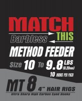 Maver Match This Hook To Nylon Method Feeder Size 10 To 9.8lbs