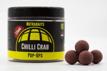 NUTRABAITS CHILLI CRAB SHELF-LIFE POP UPS 20MM POT