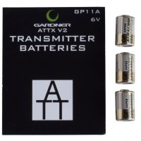 Gardner Attx V2 Transmitter Batteries Gp11a (x3)