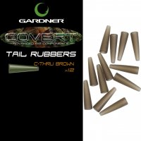 Gardner Covert Tail Rubbers C-thru Brown