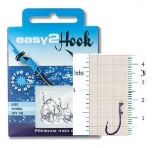 Easy2hook Carp Hook Barbless Size 8