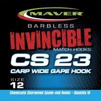 Maver Invincible Cs23 Carp Wide Gape Size 14
