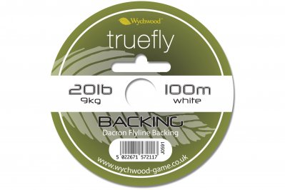 Wychwood Truefly Backing 20lb White 100m