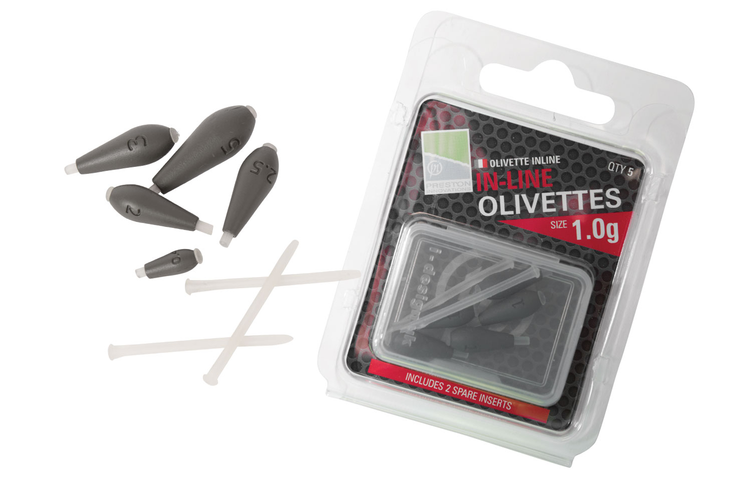 Preston Innovations In-Line Olivettes 0.4g