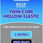 MAP TKS Twin Core Hollow Elastic 12-16 Black